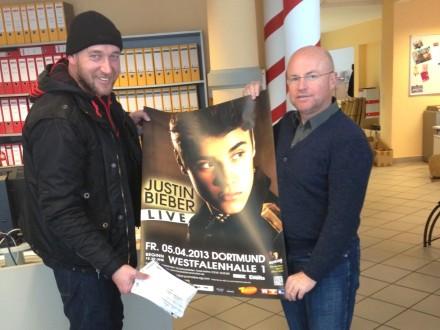"""Kinderlachen läd ein zu """"Justin Bieber"""""""