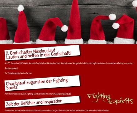2. Grafschafter Nikolauslauf – Anmeldung freigeschaltet