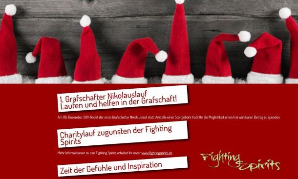 Grafschafter Nikolauslauf in Schüttdorf