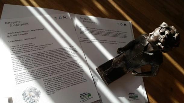 TOM Medienpreis Sonderpreis erhalten