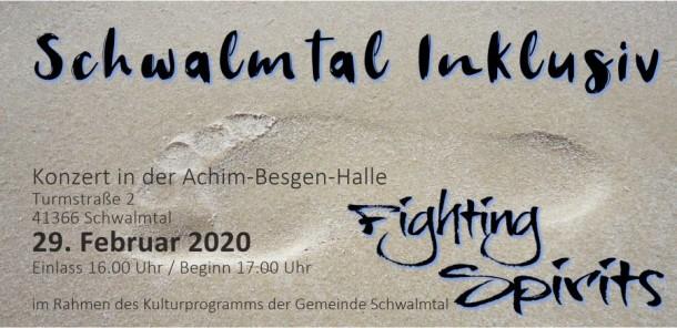 Konzert Schwalmtal inklusiv Anmeldung: http://www.fightingspirits.de/konzert/
